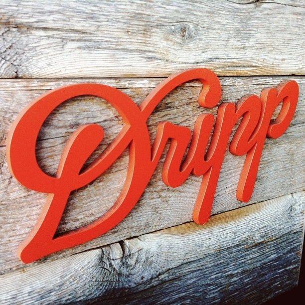 theblksmith Dripp #typography #design #jablonskimarketing #marketing