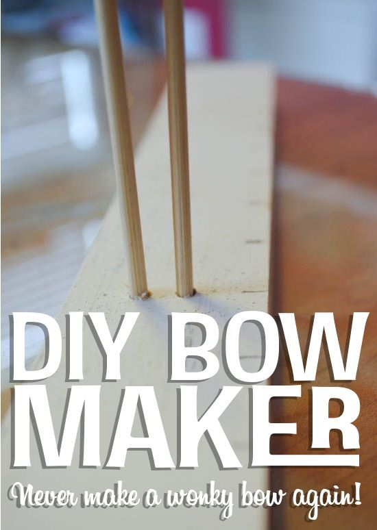 DIY Bow Maker that Saved My Bow-Making Life