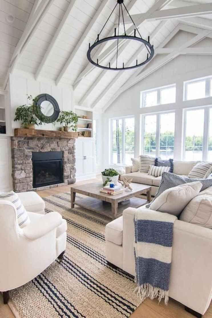 coastal farmhouse decor living room