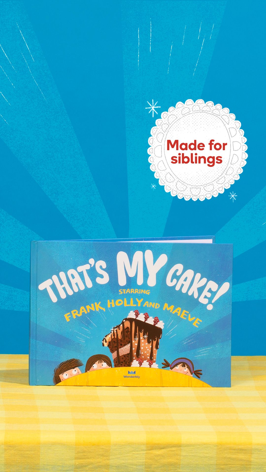 Desperate to teach siblings how to share see why our