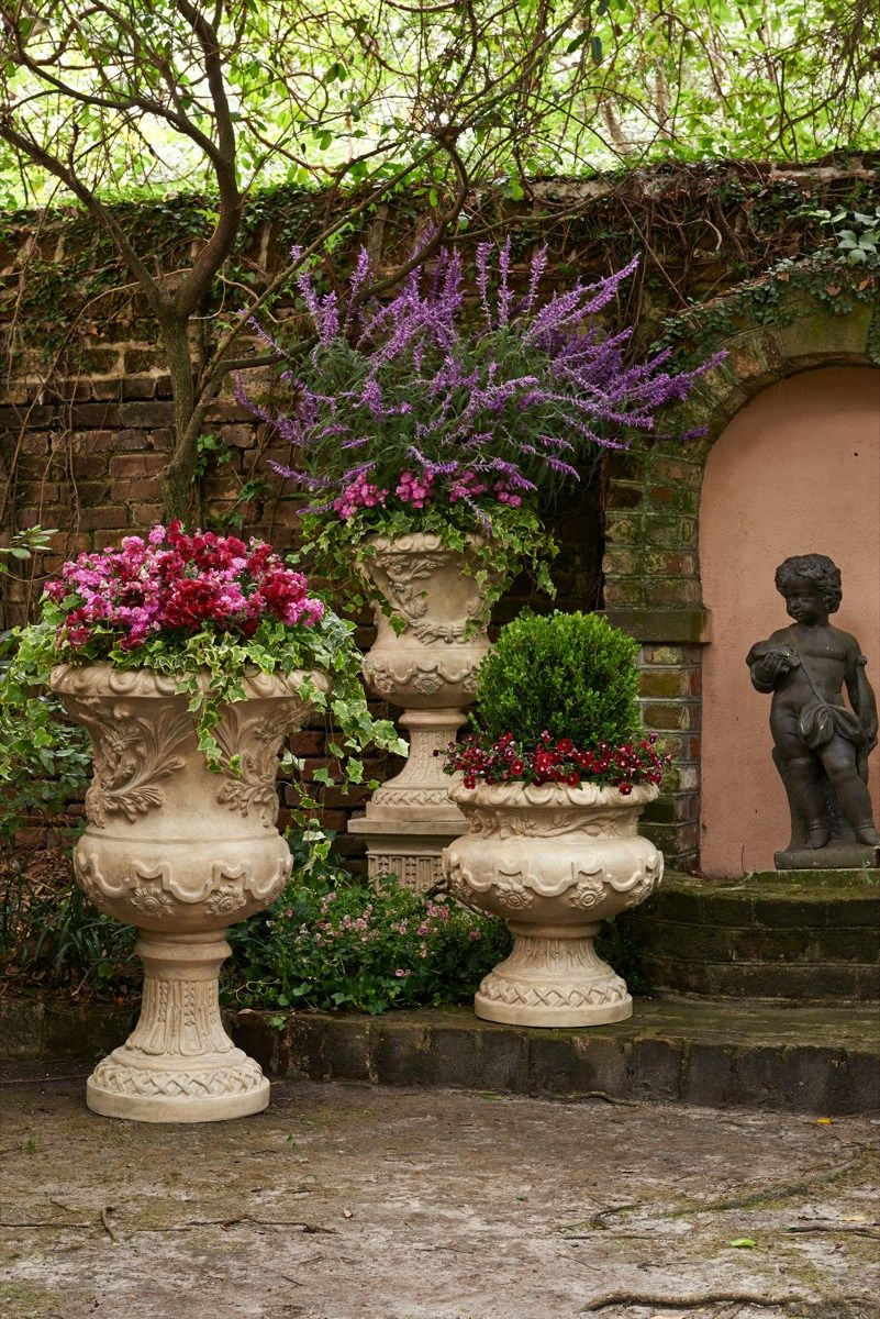 ... Collection Of Outdoor Planters And Garden Urns To Dress Up Your Garden,  Terrace Or Entryway. These Planters And Terrariums Make The Perfect Patio  Decor.