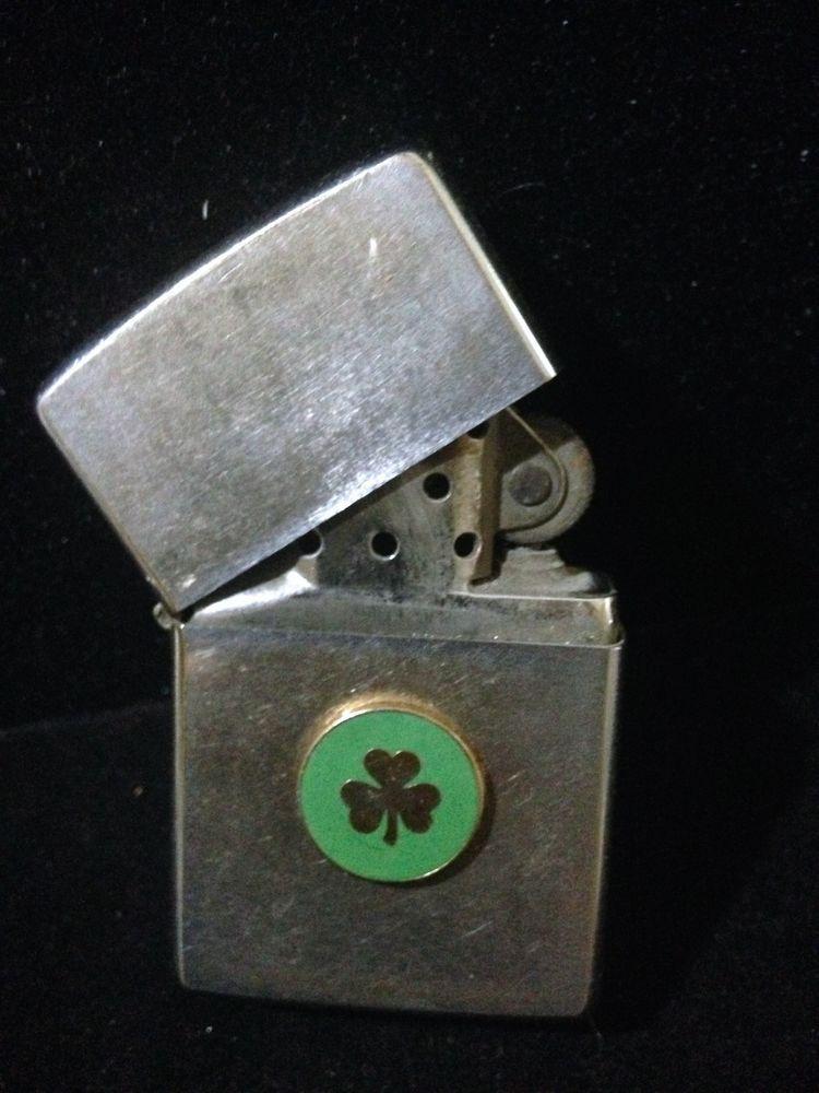 Vintage Shamrock Zippo Lighter Zippo Lighter Zippo Lighter