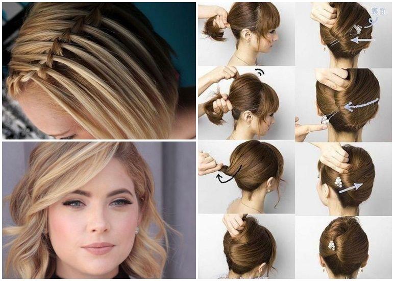 Schöne Frisuren Für Kurze Haare Zum Selber Machen Bob Frisuren