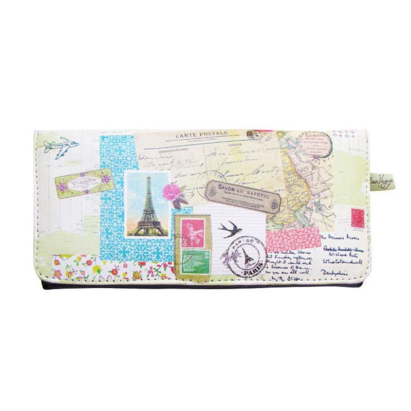Disaster Designs Ladies Wallet Bon Voyage