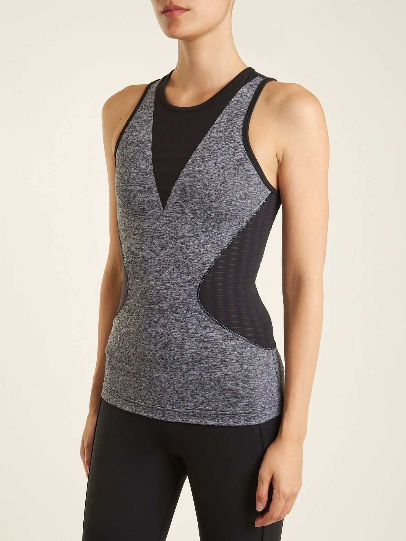 newest d6d3a 3ea32 Click here to buy Adidas By Stella McCartney Training mesh-insert  performance tank top at MATCHESFASHION.COM