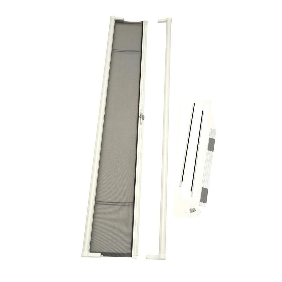 Odl Odl Brisa Retractable Screen White Aluminum Frame Retractable Screen Door Common 36 In X 96 In Actual 36 In X 97 In 2020 Retractable Screen Door Home Depot Windows Doors