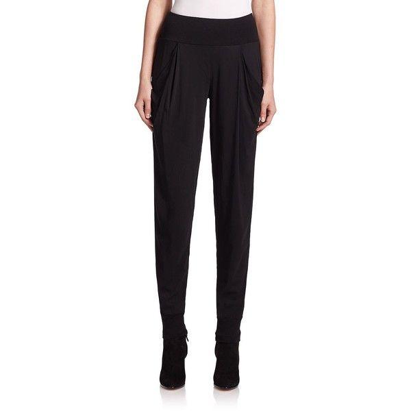 Donna Karan Pleated Pants (1 200 AUD) ❤ liked on Polyvore