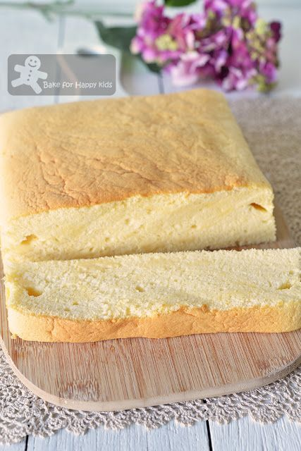 Bake For Happy Kids Taiwanese Cheese Cake Gochabi Cheese Sponge