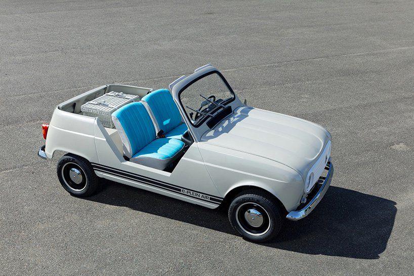 renault e-plein air concept car electrifies their 1960s beach classic #conceptcars
