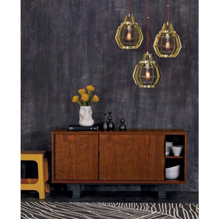 #grouped #lighting #cluster #pendant #industrial #yellow #livingroom