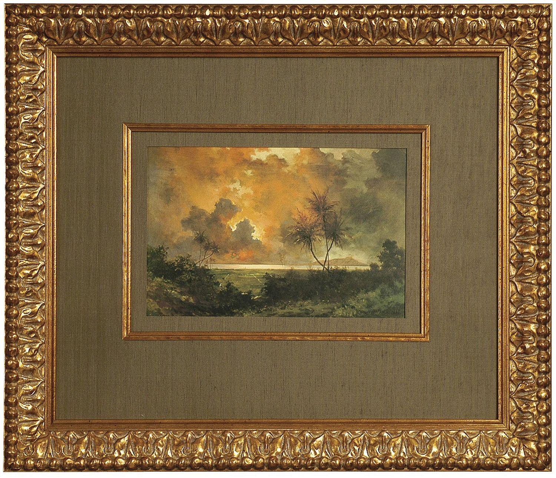 Custom Mats Decorative Mouldings Frame Framing Vintage Frames Painting