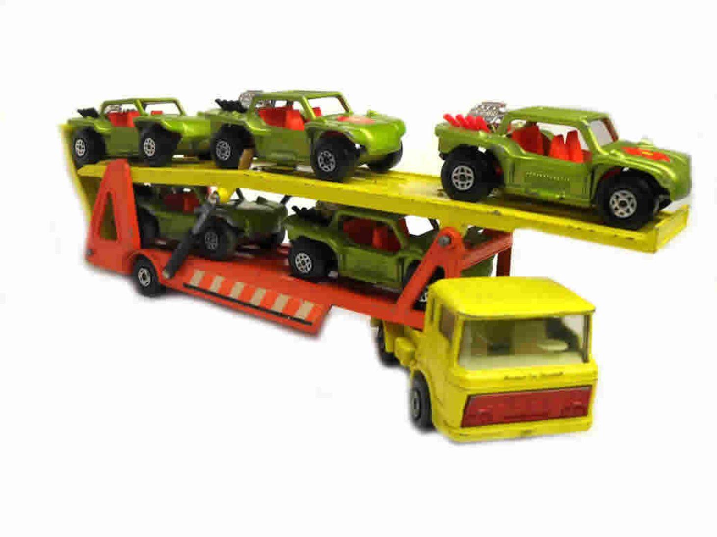 1970s Matchbox Super Kings No K11 Daf Car Transporter Yellow Orange Made In England Toys 1960s 60s Vintage Matchbox Ma In 2020 Matchbox Diecast Cars Diecast
