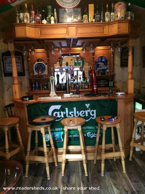 Bar 46 Pub Entertainment From Garden Shedoftheyear Enter Your Shed Now For 2020 Pub Sheds Bar Shed Bars For Home