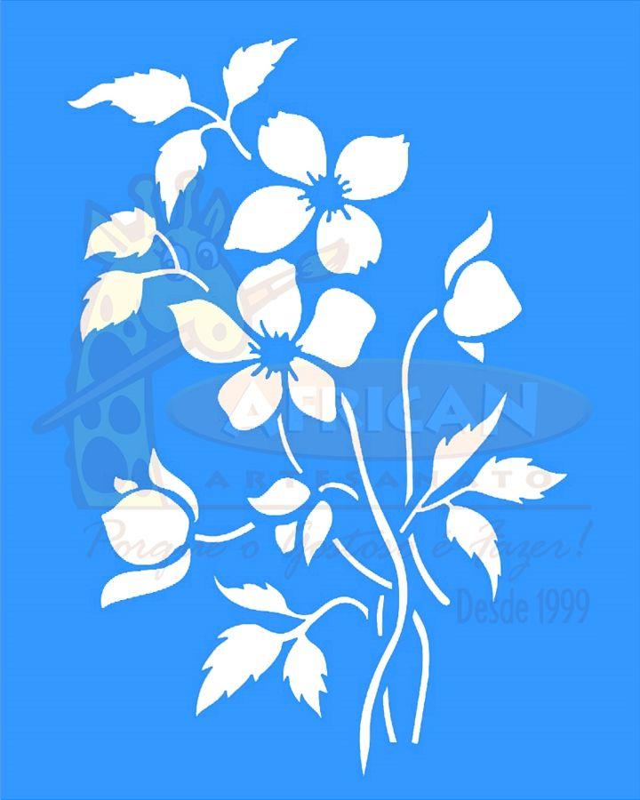 Stencil Flores Buscar Con Google Stencil Stencil Estencil E