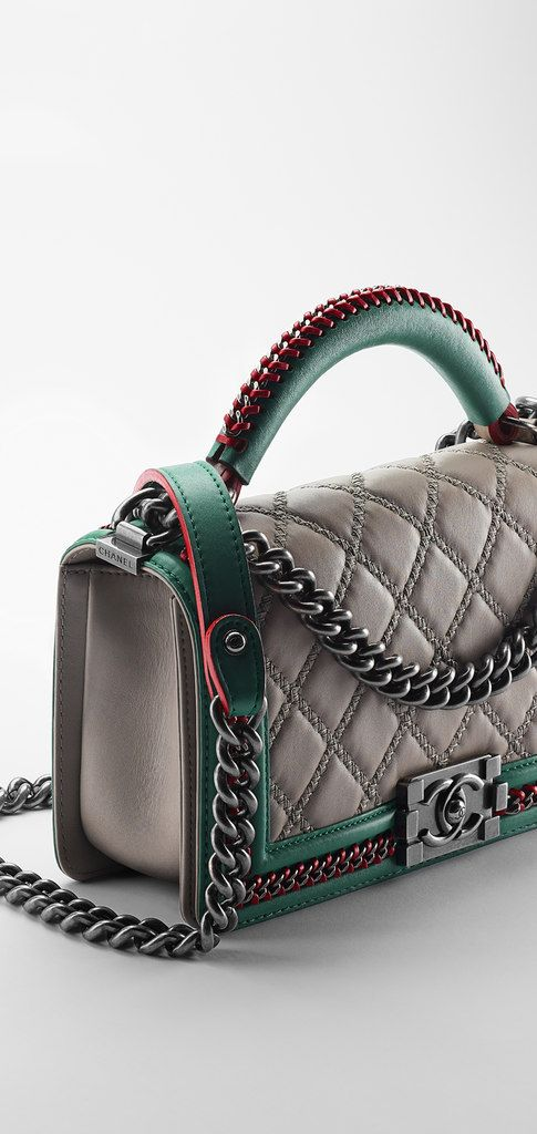 2015 Calfskin Boy CHANEL flap bag