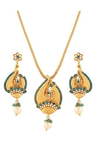 Green Stone White Pearls Indian Bollywood Gold Plated Tra... https://www.amazon.com/dp/B06XRX4G64/ref=cm_sw_r_pi_dp_x_Te19ybZMSTN23