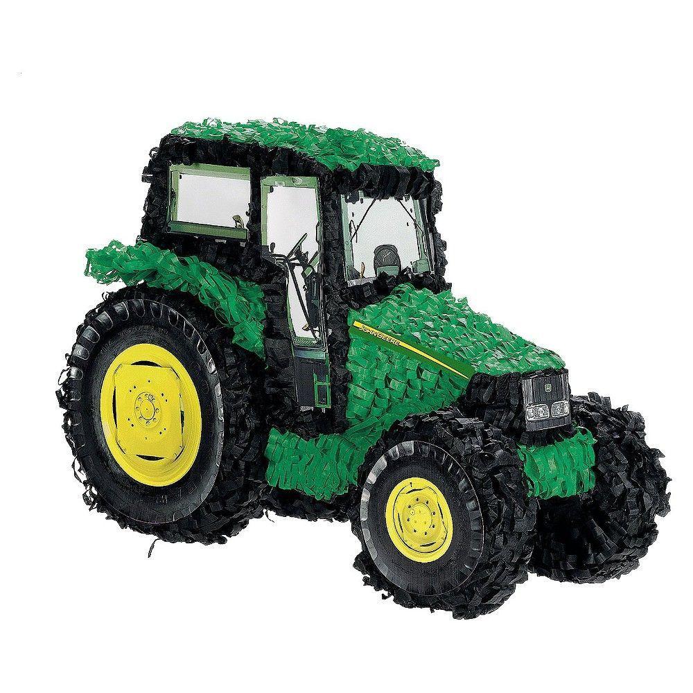 John Deere Tractor Birthday Party Pinata,
