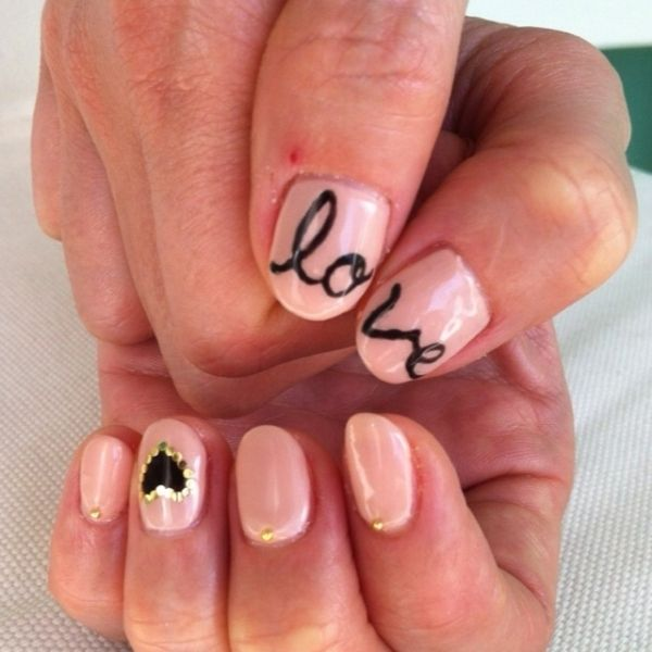 26 Ridiculously Sweet Valentine's Day Nail Art Designs - 26 Ridiculously Sweet Valentine's Day Nail Art Designs Thoughts