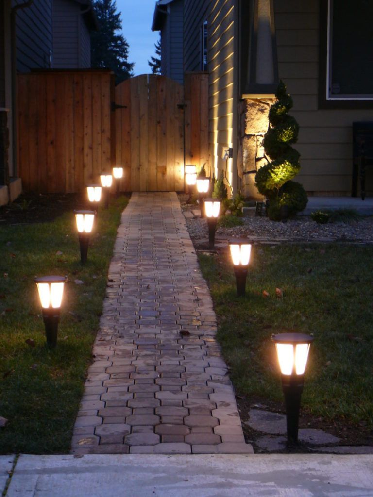 Charmant Use Solar Lights To Add Lighting Without Add To Your Electric Bill.  #solarpower