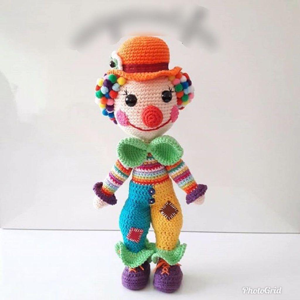 Clown Free Crochet Patterns | Crochet amigurumi free patterns ... | 1024x1024