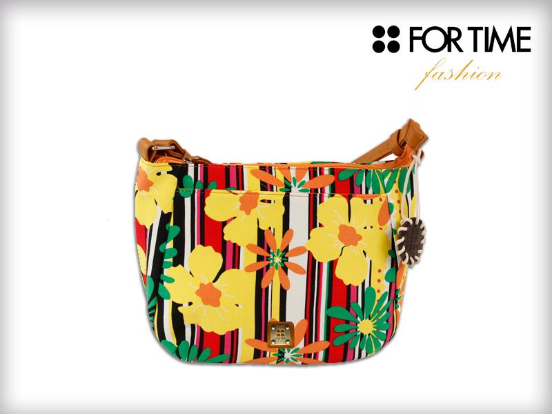 Bolso Colorido con motivos Florales Colección Nature Primavera Verano