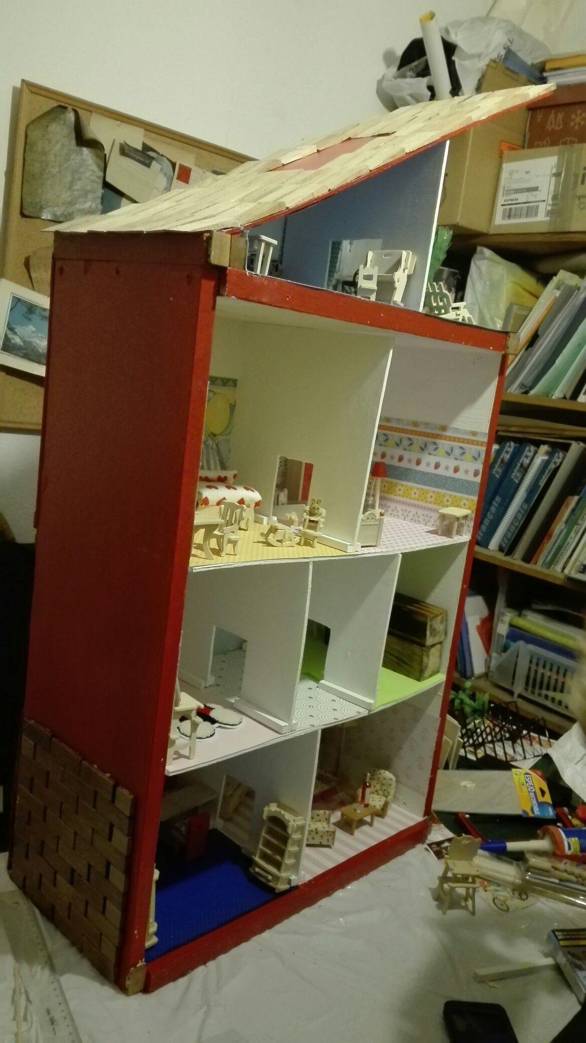 Esto Va Tomando Color Prueba De Los Primeros Muebles Y Cositas Del Interior Muebles Casa De Muñecas Interiores