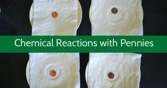 This fun science project for kids will help them explore chemical reactions with pennies.