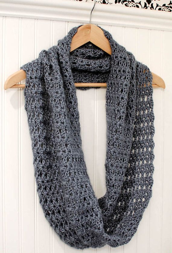 Crochet Pattern Mobius Infinity Scarf / Wrap by petalstopicots ...