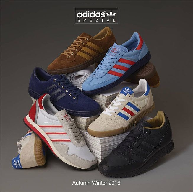Nice adidas Spezial poster for the A/W 2016 release