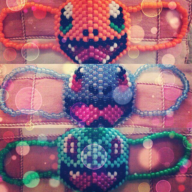 Pokemon Kandi Mask Patterns
