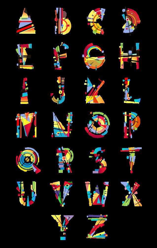 Tano veron la typographie lev e au rang d art typo co - Lettres alphabet originales ...