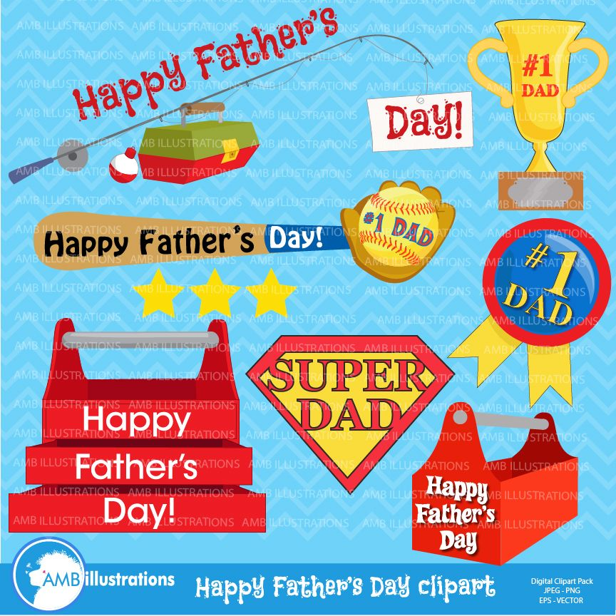 Father S Day Clipart Graphics Clip Art Fathers Day Dad Clipart