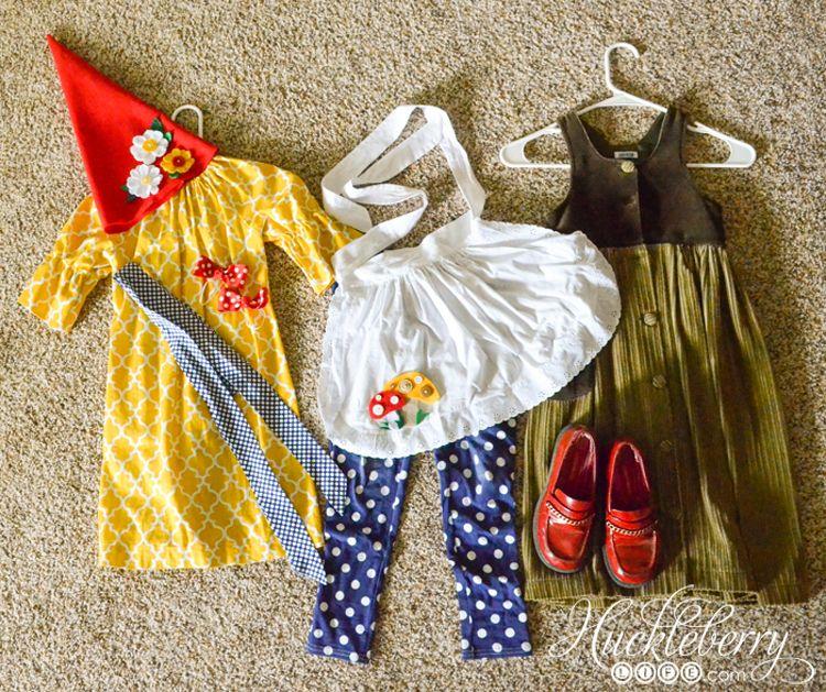DIY Gnome Halloween Costumes #gnomecostume