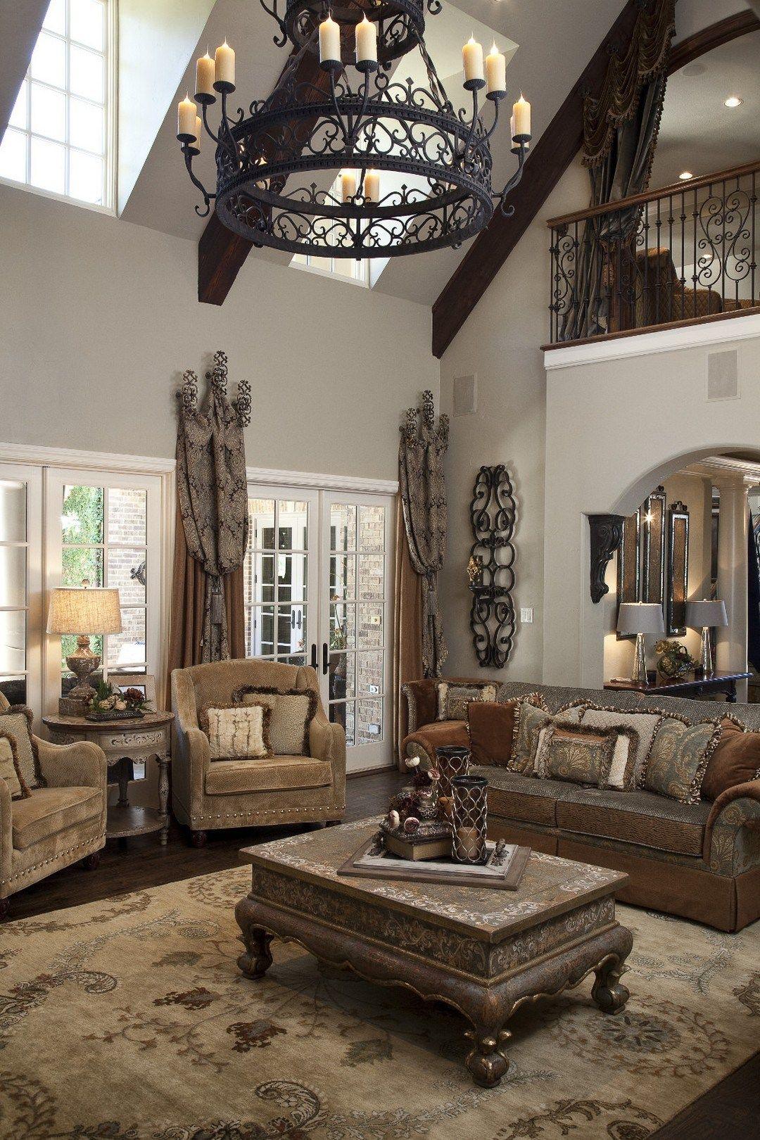 Charming Mediterranean Living Room Design 2 Decomagz