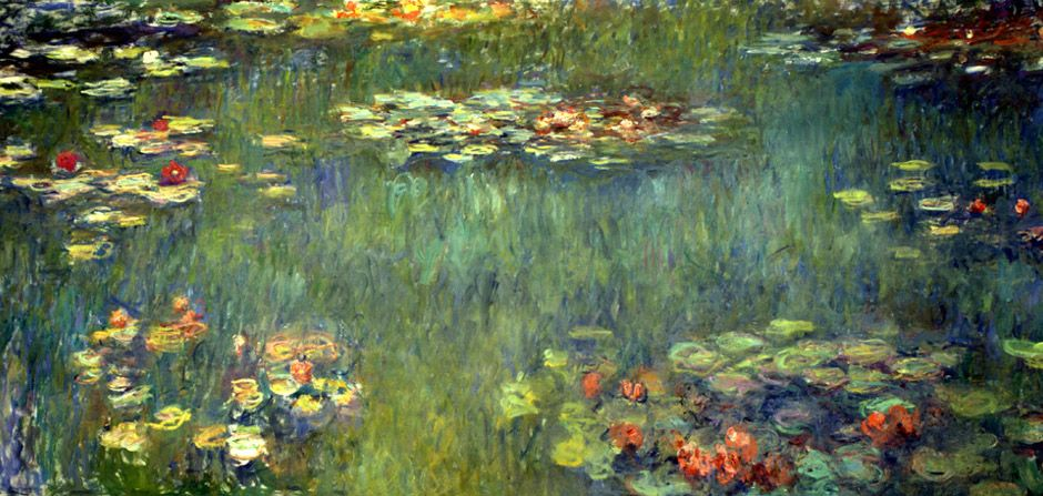 Pool With Waterlilies | Claude Monet | Oil Painting #impressionism