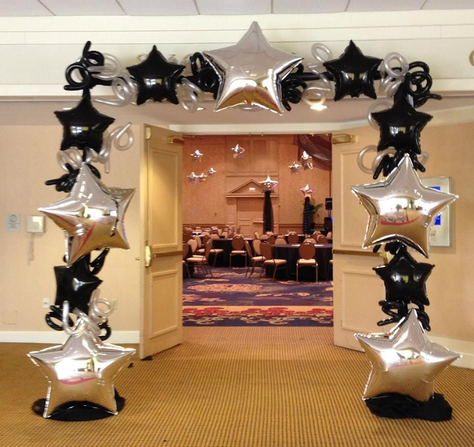 Where can you buy balloon arch kits in delaware - Hollywood Or Broadway Themed Entrance Use Large Star Balloons For Photo Booths Or Entry Way
