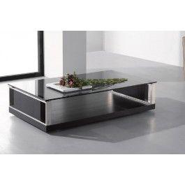 Jewel Modern Black Oak Coffee Table Modern Black Coffee Table Black Glass Coffee Table Home Coffee Tables