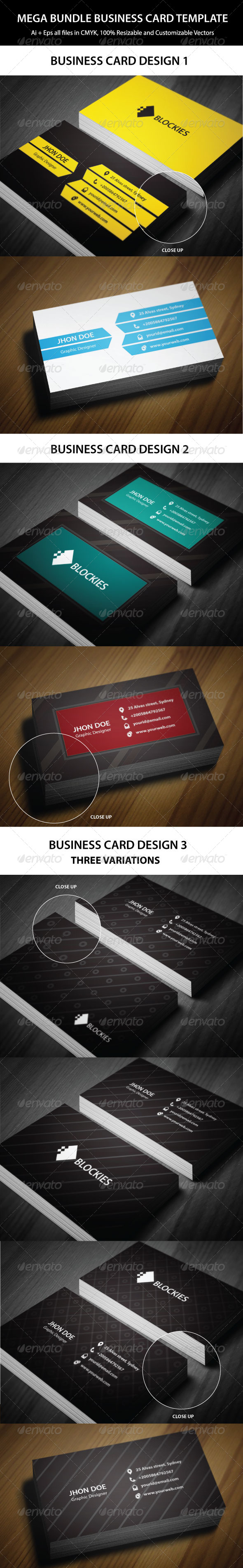 Exclusive 3 in 1 business card bundle business cards card exclusive 3 in 1 business card bundle graphicriver please rate while downloading an excellent bundle of business card templates which is suitable for reheart Image collections