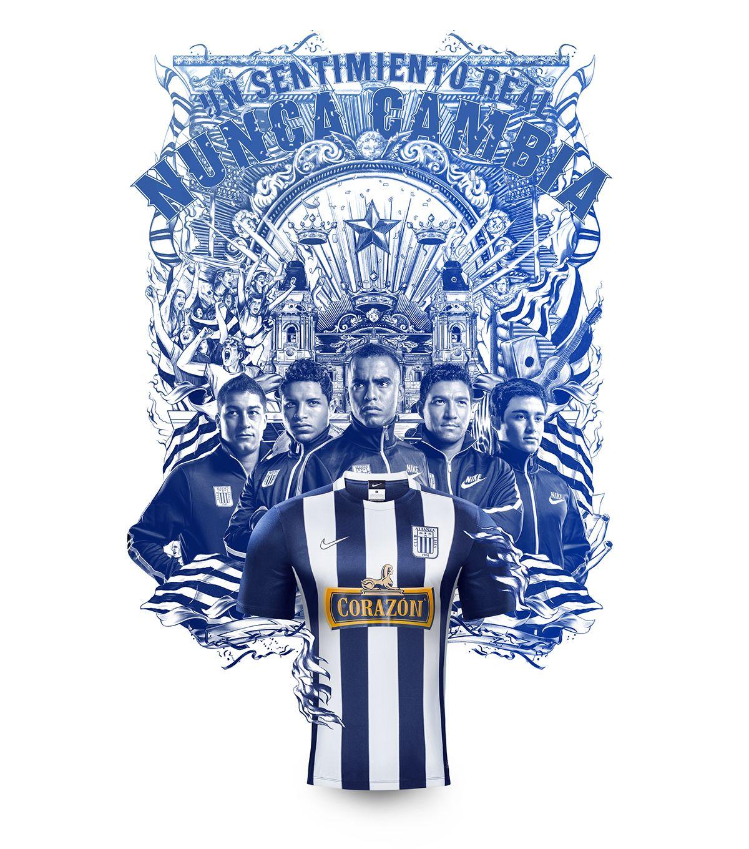 Nike - Camiseta 2015 Alianza Lima on Behance  ae286b7069aeb