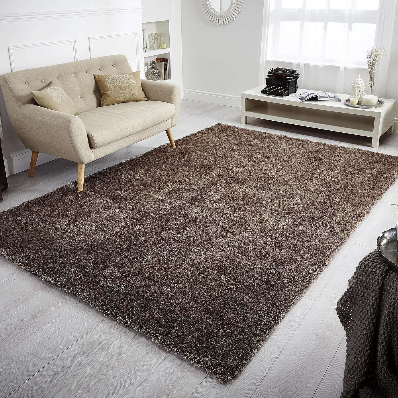 Extra Large Indulgence Shaggy Rug | Dunelm Lounge Rug, Rugs In Living Room,  Living