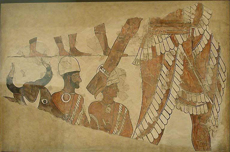 Peinture Murale Dite LOrdonnateur Du Sacrifice Vers  Avant J