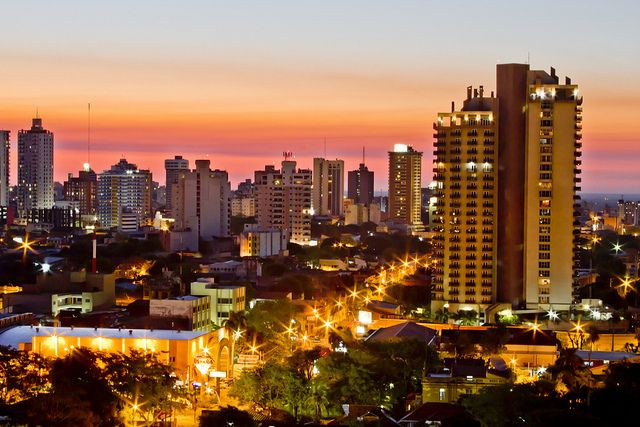 Asuncion World Cities Landlocked Country Places To Go