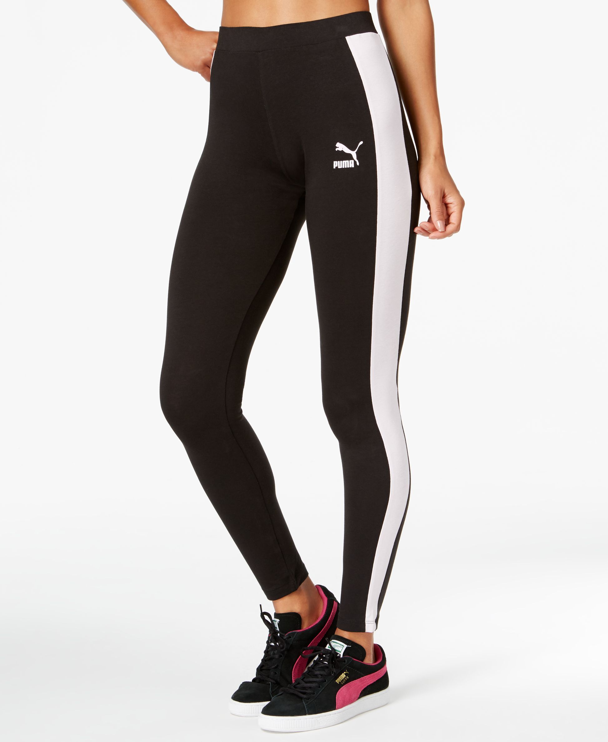 Women's Clothing Puma Ladies Gym Running Tights Bnwot Small S Traveling