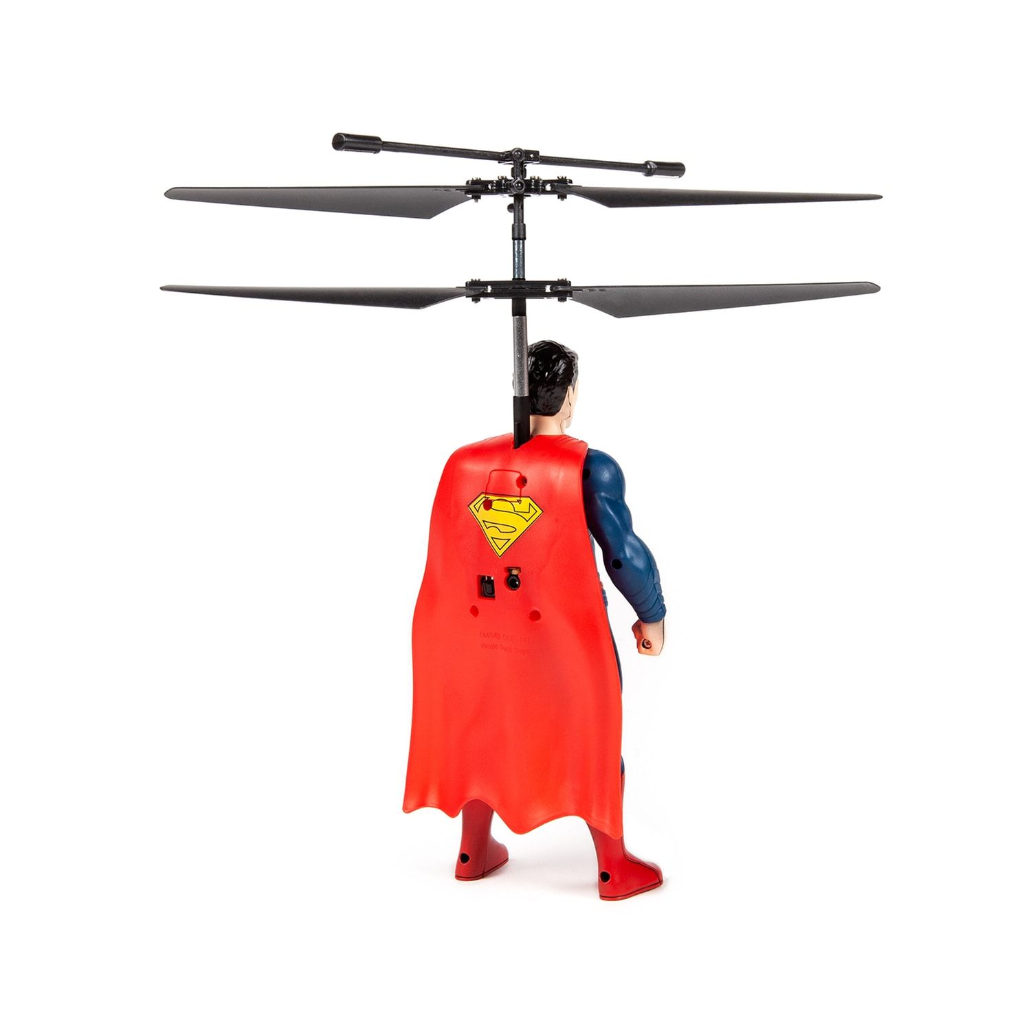 World Tech Toys Superman Flying Figure 2 Channel Helicopter #techtoys