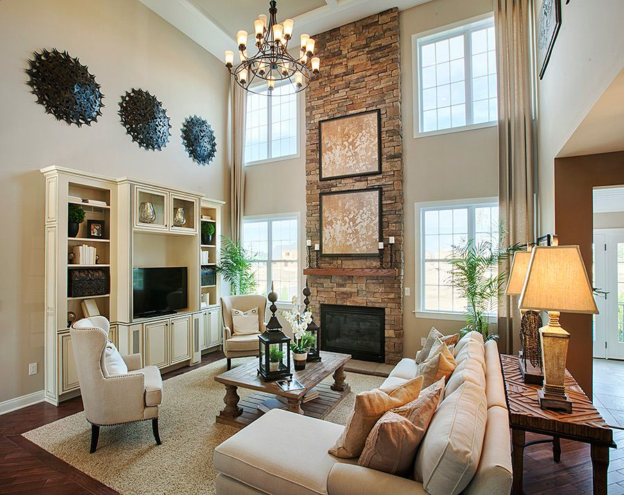 Family Room Design Ideas Pinterest Part - 40: Love This Comfortable Chic Living Room Design!
