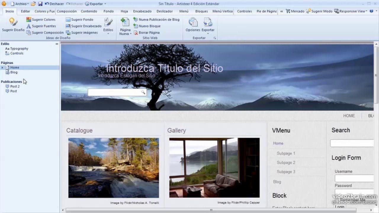 Crear Pagina Web con Wordpress y Artisteer | (WEB) DISEÑO WEB ...