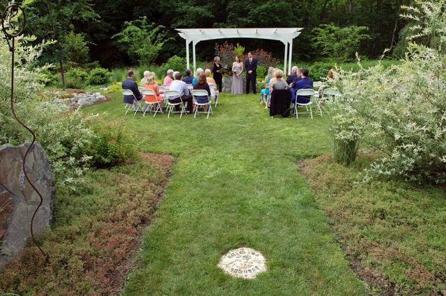 Harmony Gardens - perfect for a small wedding! Saylorsburg PA Lois ...