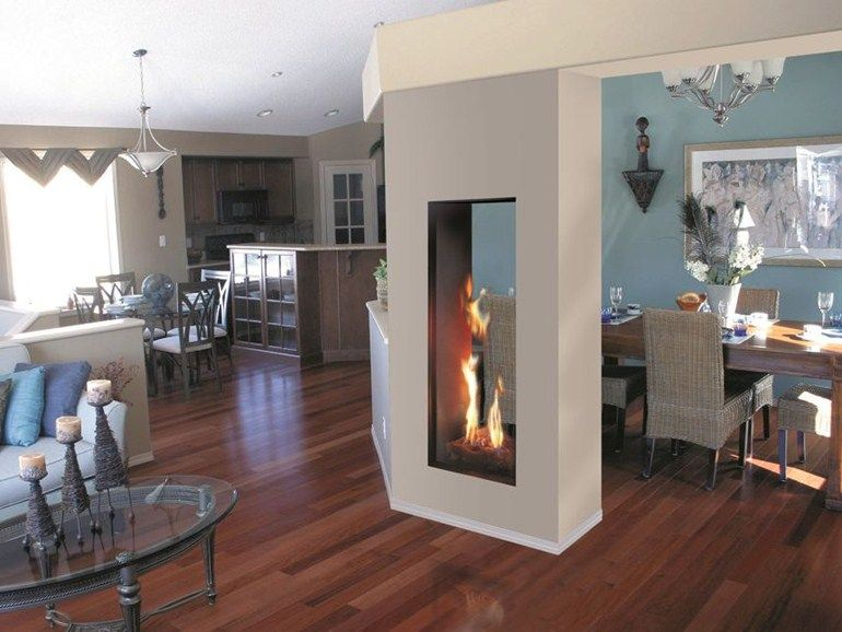 Gas fireplace and Foyers