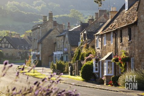 Cotswold Cottages, Broadway, Worcestershire, Cotswolds, England, United Kingdom, Europe Photographic Print by Stuart Black at Art.com