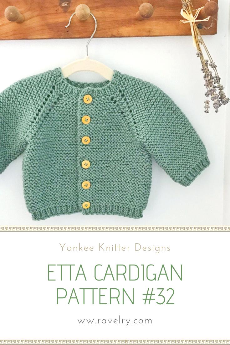 1e409d61f 32 Etta Cardigan pattern by Melinda Goodfellow